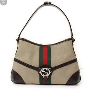 Authentic Gucci Reins Shoulder Bag